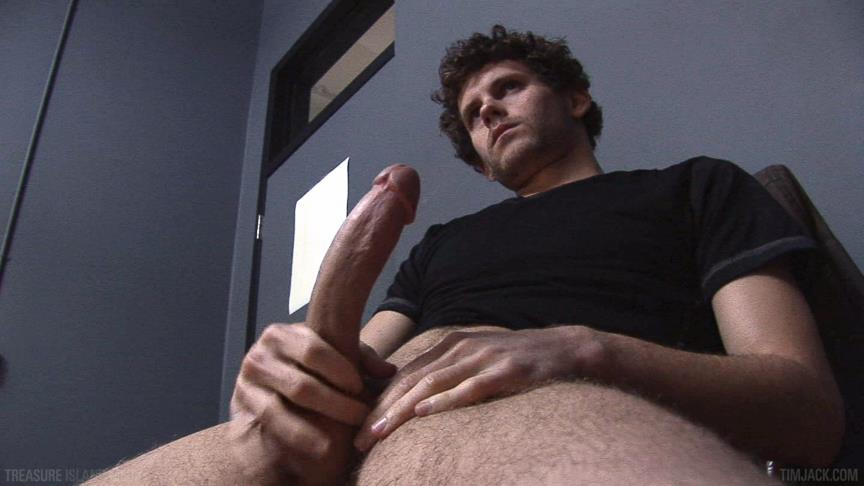 Treasure-Island-Media-TimJACK-Wolf-Hall-8-Inch-Cock-Masturbation-Amateur-Gay-Porn-03 Treasure Island Media: Wolf Hall Strokes Out A Load From His 8