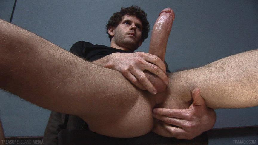 Treasure-Island-Media-TimJACK-Wolf-Hall-8-Inch-Cock-Masturbation-Amateur-Gay-Porn-05 Treasure Island Media: Wolf Hall Strokes Out A Load From His 8