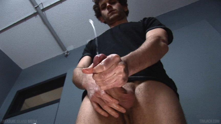 Treasure-Island-Media-TimJACK-Wolf-Hall-8-Inch-Cock-Masturbation-Amateur-Gay-Porn-07 Treasure Island Media: Wolf Hall Strokes Out A Load From His 8