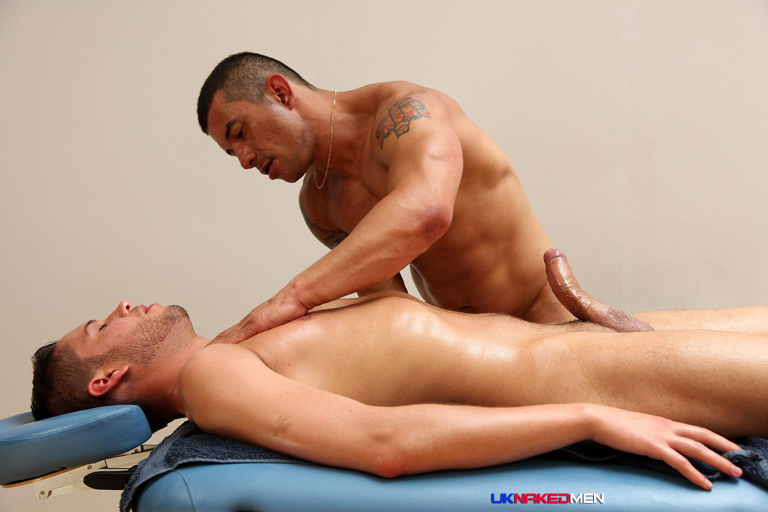 UK-Naked-Men-Gio-Cruz-and-Mark-Coxx-Big-Muscle-Uncut-Cock-Guys-Fucking-Amateur-Gay-Porn-11 Muscle Daddy Fucks an Amateur Younger Guy With A Huge Uncut Cock
