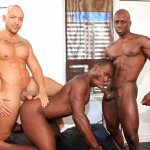 Next Door Ebony Jordano Santoro and Jay Black and Damian Brooks Interracial Gay Fucking Threeway Amateur Gay Porn 09 150x150 Interracial Muscle Couple Picks Up A Black Muscle Stud In The Park