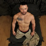All American Heroes Sergeant Miles Army Guy Jerking Off Big Cock And Fingering Ass Amateur Gay Porn 03 150x150 Happy Veterans Day: Straight US Army Sergeant Jerks His Thick Cock