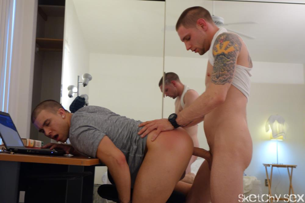 Sketchy Sex Eli Taking an Anonymous raw cock up the ass Amateur Gay Porn 6 Young Guy Taking Anonymous Bareback Loads Up His Ass