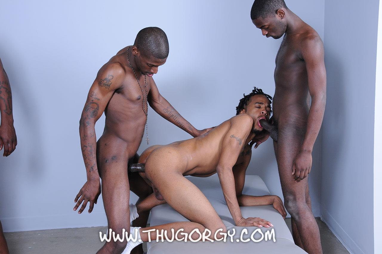 Thug-Orgy-Steel-Lil-Boo-Virgo-da-Beast-Galaxy-and-Tonka-Toye-Big-Black-Cock-Orgy-Amateur-Gay-Porn-13 Massages Turn Into A Full Blown Big Black Cock Thug Orgy