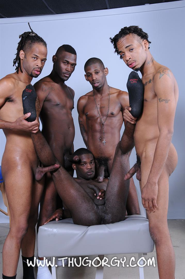 Thug-Orgy-Steel-Lil-Boo-Virgo-da-Beast-Galaxy-and-Tonka-Toye-Big-Black-Cock-Orgy-Amateur-Gay-Porn-17 Massages Turn Into A Full Blown Big Black Cock Thug Orgy