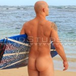 Island Studs Justin Marine Drill Sergeant Stroking His Thick Cock In Public Amateur Gay Porn 02 150x150 Amateur Straight Marine Drill Sergeant Jerking Off On A Public Beach