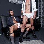 Lucas Entertainment Adriano Carrasco and Valentino Medici Huge Uncut Cocks Men In Suits Fucking Amateur Gay Porn 02 150x150 Hunks In Business Suits With Big Uncut Cocks Fucking Hard