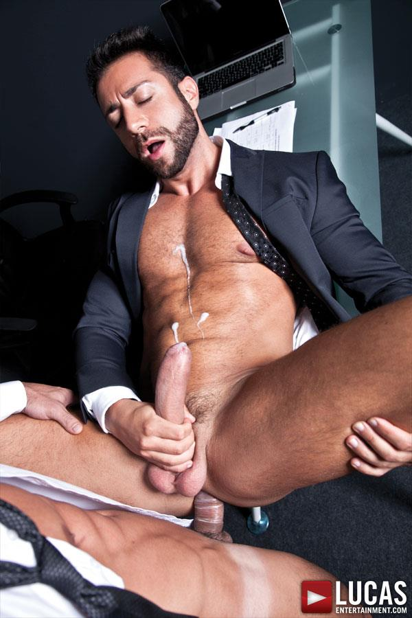 Lucas Entertainment Adriano Carrasco and Valentino Medici Huge Uncut Cocks Men In Suits Fucking Amateur Gay Porn 07 Hunks In Business Suits With Big Uncut Cocks Fucking Hard