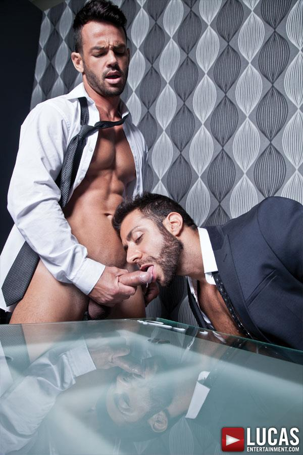 Lucas Entertainment Adriano Carrasco and Valentino Medici Huge Uncut Cocks Men In Suits Fucking Amateur Gay Porn 08 Hunks In Business Suits With Big Uncut Cocks Fucking Hard