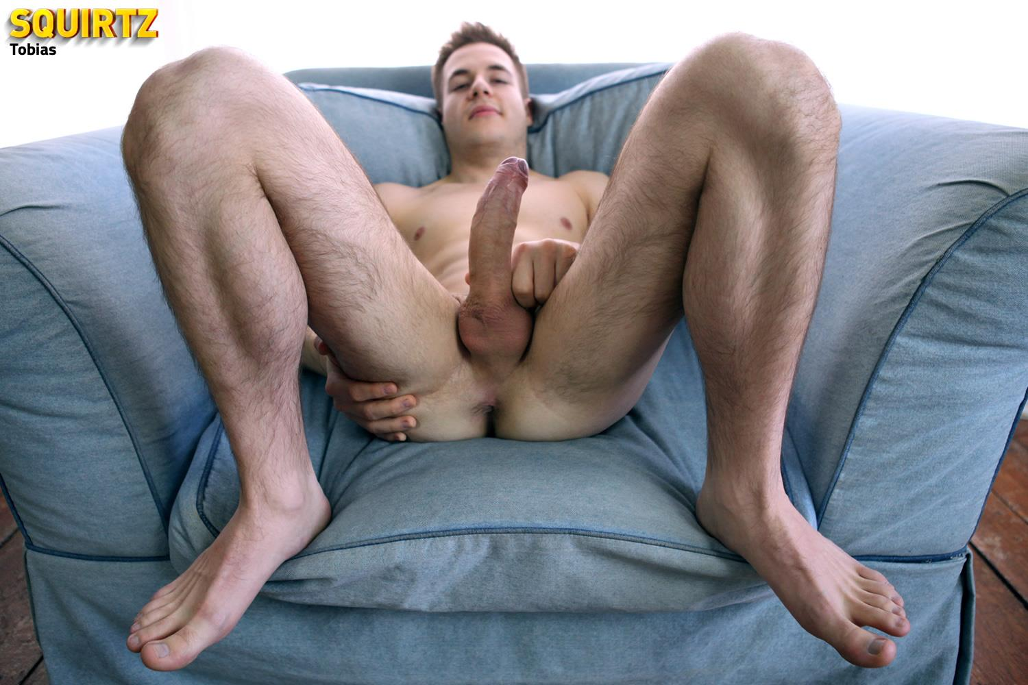 Squirtz Tobias Hairy Legged Twink Masturbating Big Uncut Cock Amateur Gay Porn 10 Amateur Hairy Leg Twink Stroking His Big Uncut Cock