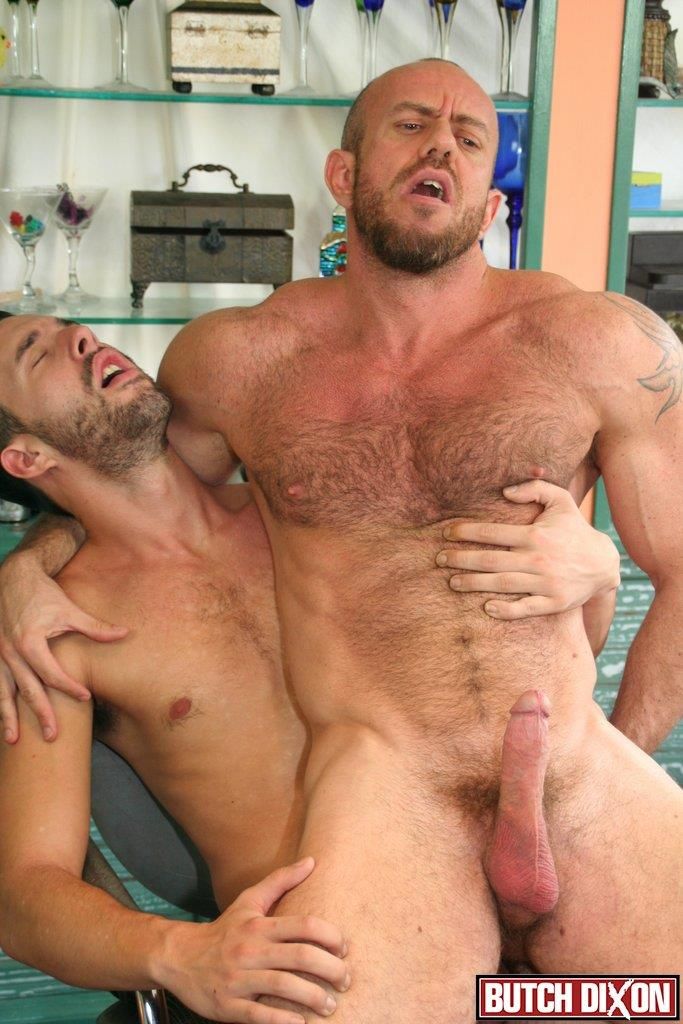 image Mike manchester and tony hunter enjoying anal in the office