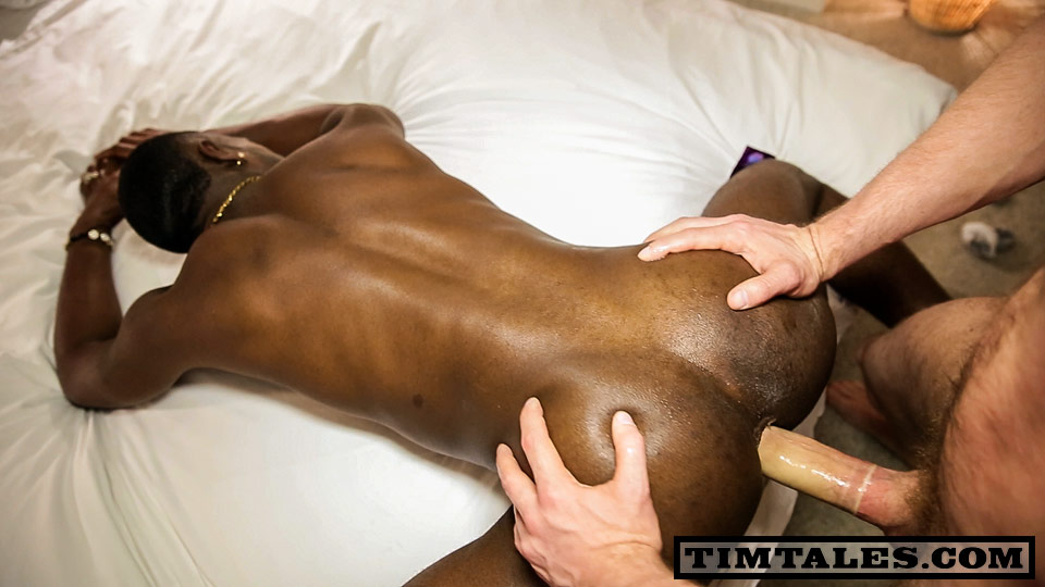 Black cock white gay ass