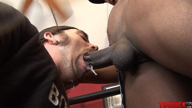 Treasure Island Media TimSuck Trevor and Javin Big Black Cock Sucking Amateur Gay Porn 06 White Guy Worshipping A 13