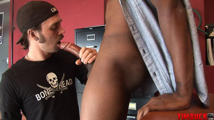 Treasure Island Media TimSuck Trevor and Javin Big Black Cock Sucking Amateur Gay Porn 08 White Guy Worshipping A 13