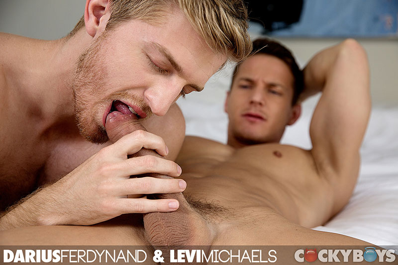 CockyBoys Darius Ferdynand and Levi Michaels Flip Flop Fucking With Big Uncut Cock Amateur Gay Porn 25 Darius Ferdynand Flip Flop Fucking With His Big Uncut Cock