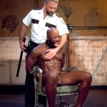 Fetish Force Race Cooper and Dirk Caber Black Guy Forced To Suck White Cock Amateur Gay Porn 05 150x150 Black Inmate Race Cooper Forced To Suck A Guards Thick White Cock