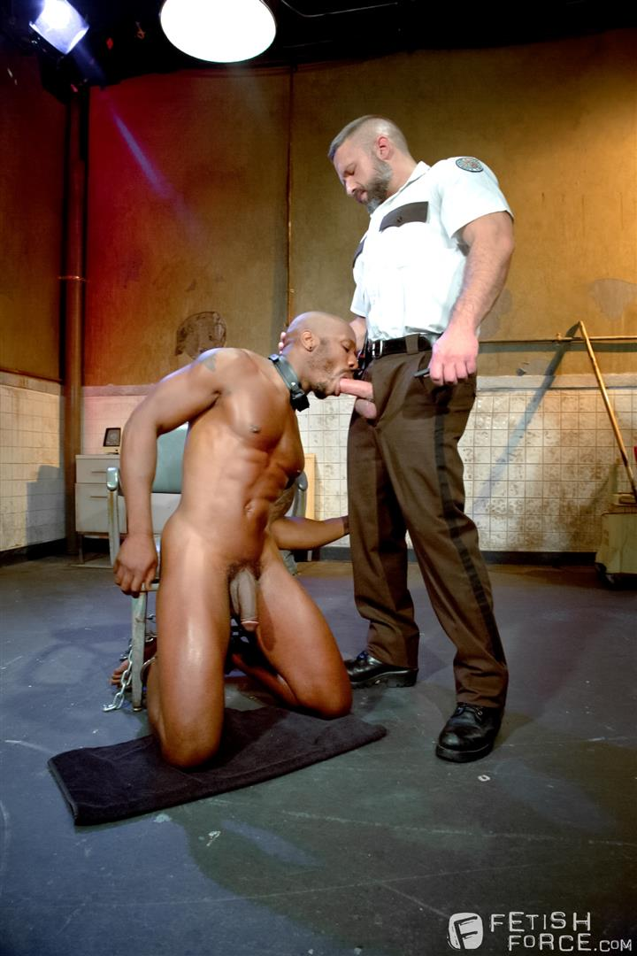 Fetish Force Race Cooper and Dirk Caber Black Guy Forced To Suck White Cock Amateur Gay Porn 11 Black Inmate Race Cooper Forced To Suck A Guards Thick White Cock