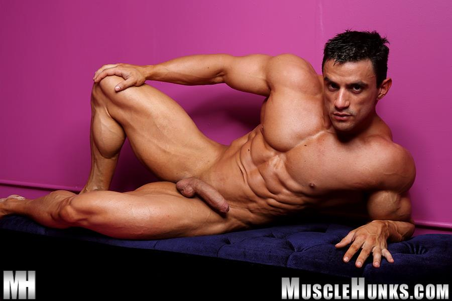 Muscle Hunks Macho Nacho Powerlifter With A Big Uncut Cock Amateur Gay Porn 11 Muscle Hunk Macho Nacho Playing With His Big Uncut Cock