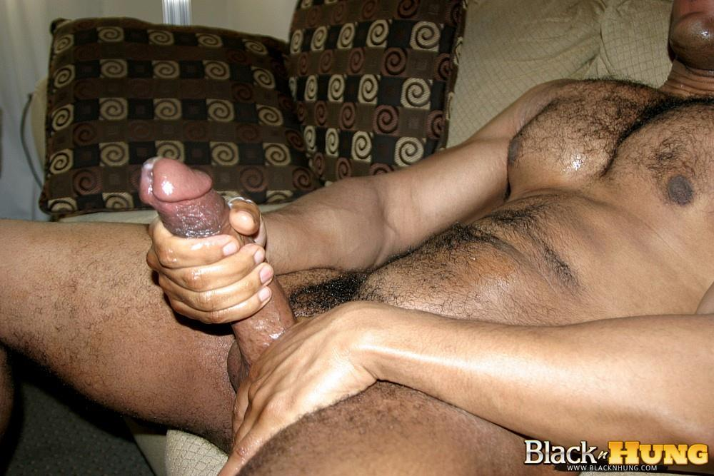 Black dick jack off