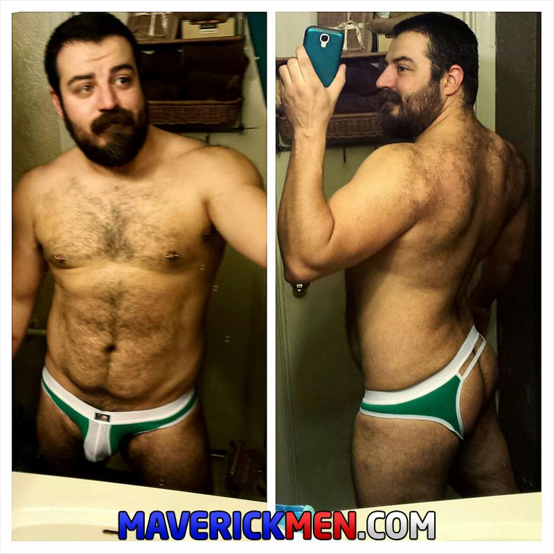 Maverick Men Grumpy Hairy Bear Gets Fucked By Two Big Daddy Cocks Amateur Gay Porn 5 The Maverick Men Bareback Tag Team A Hairy Bear Ass