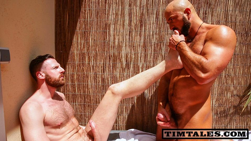 TimTales Tim Kruger and Bruno Boni Big Uncut Cocks Fucking With Feet Play Amateur Gay Porn 04 TimTales: Tim and Bruno Boni   Big Cock And Feet Play