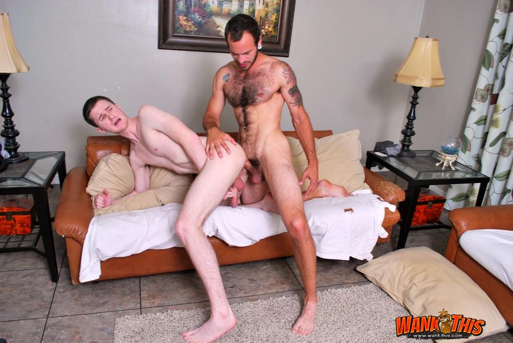 Wank This Maxx Fitch and Josh Pierce Huge White Cock Barebacking A Tight White Ass Amateur Gay Porn 16 Hairy Maxx Fitch Bareback Fucking A Tight White Ass With His Huge Cock