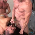 Raw and Rough Gio Ryder and Shay Michaels and Parker Jock Gets barebacked by two muscle daddy Amateur Gay Porn 07 150x150 Jock Sniffing Slut Gio Ryder Takes Bareback Cocks Up The Ass