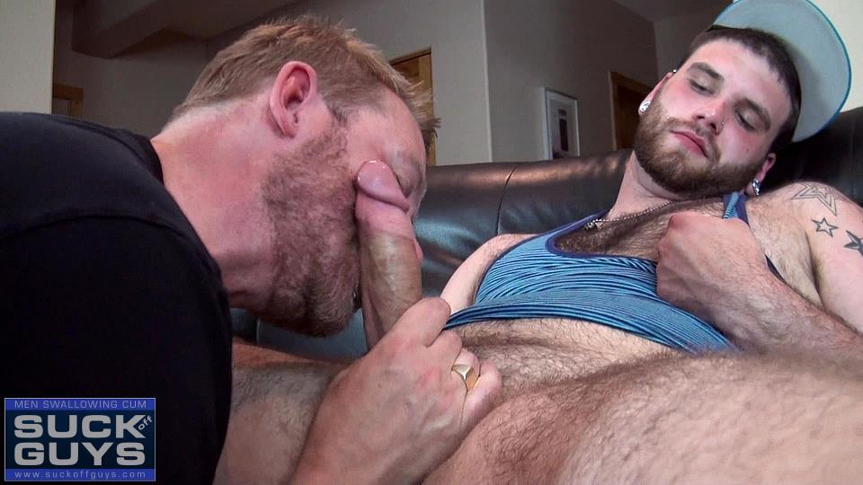 Suck Off Guys Tyler Beck and Aaron French Young Hairy Beefy Guy With A Thick Hairy Cock Amateur Gay Porn 20 21 Year Old Hairy and Hung Stud Gets His Thick Cock Sucked