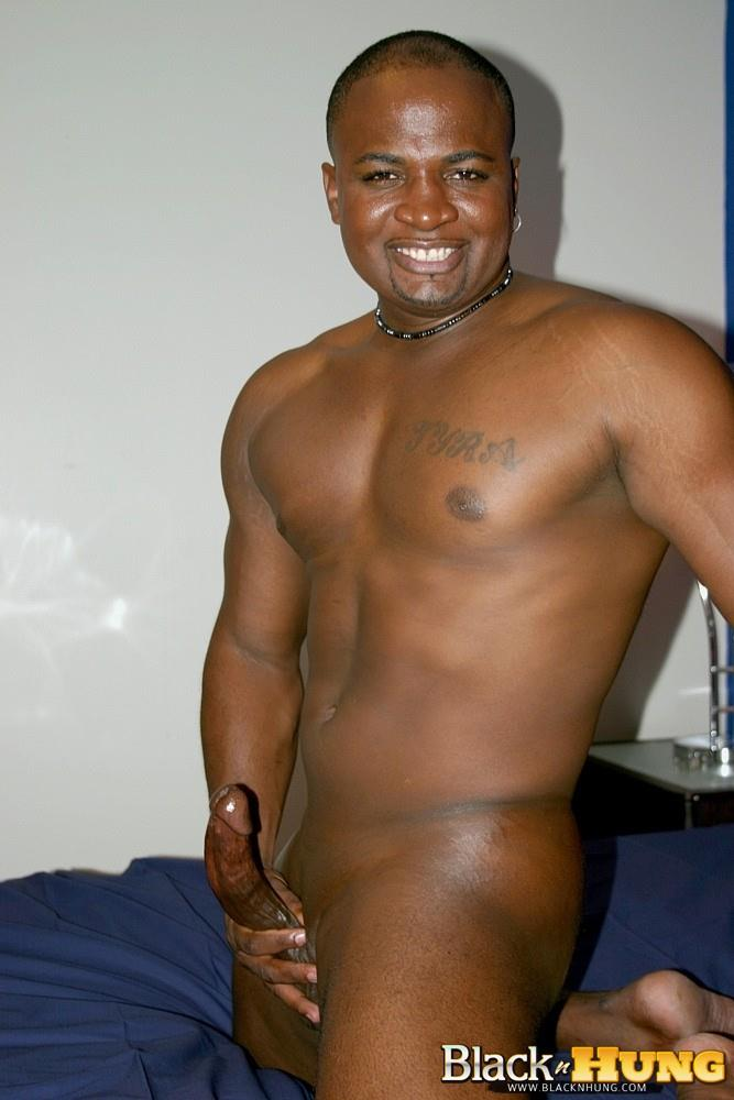 Black-N-Hung-D-Total-Package-Black-Muscle-Thug-Jerking-His-Thick-Black-Cock-Amateur-Gay-Porn-14 Black Muscle Thug Jerking Off His Thick Black Cock