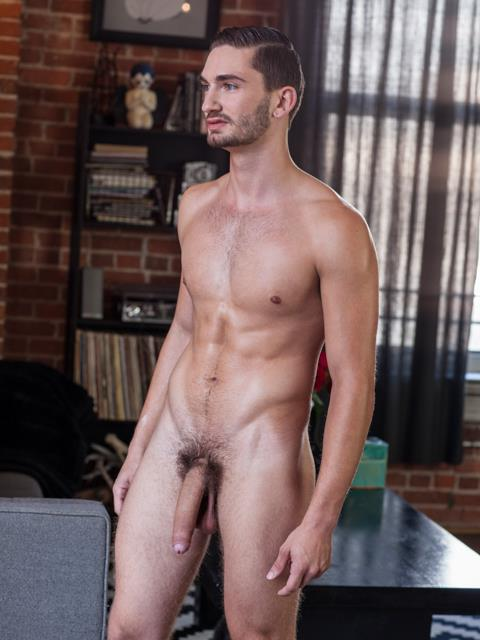 Randy-Blue-Preston-Cole-GQ-looking-Guy-With-A-Huge-Uncut-Cock-Jerking-Off-Amateur-Gay-Porn-09 Hottie Preston Cole Jerking His Huge Uncut Cock