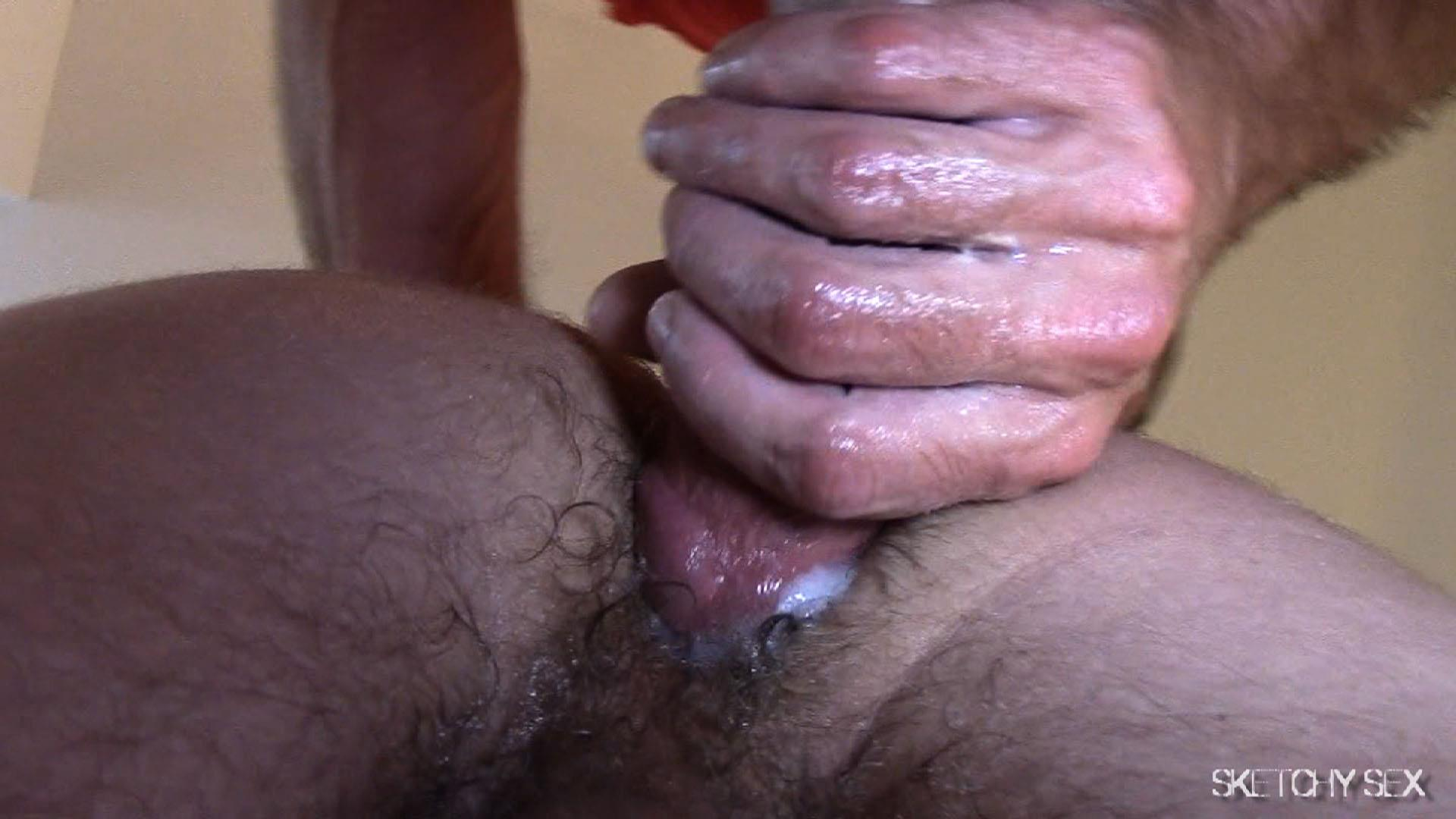 Sketchy Sex Nate Getting Fucked Bareback By A 10 Inch Craigslist Cock Amateur Gay Porn 10 Taking A 10