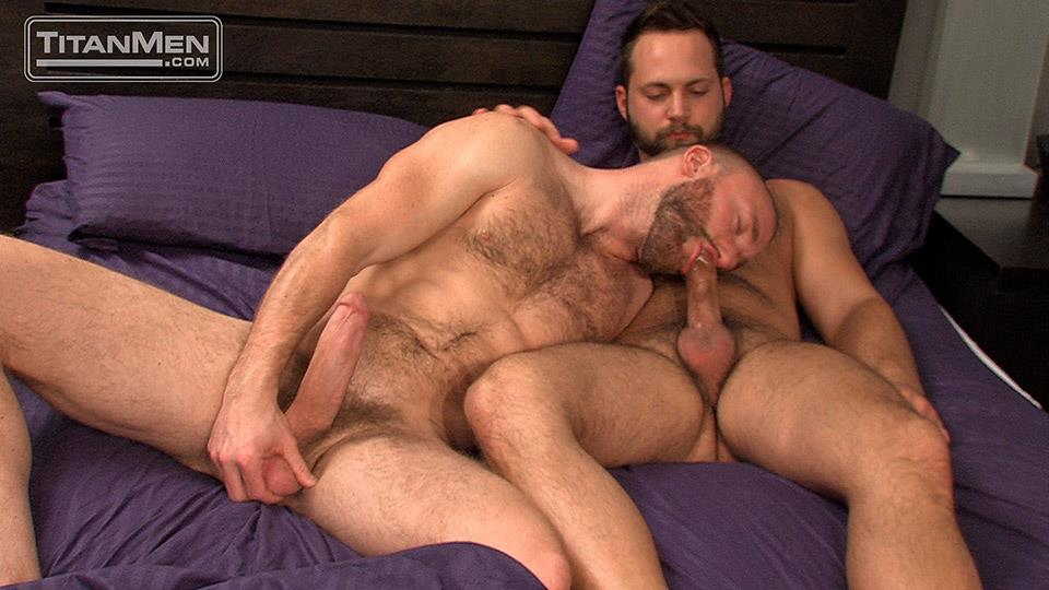 Titan Men Nick Prescott and Tyler Edwards Hairy Muscle Hunks Fucking With Big Cocks Amateur Gay Porn 07 Hairy Muscle Boyfriends Nick Prescott and Tyler Edwards Fucking