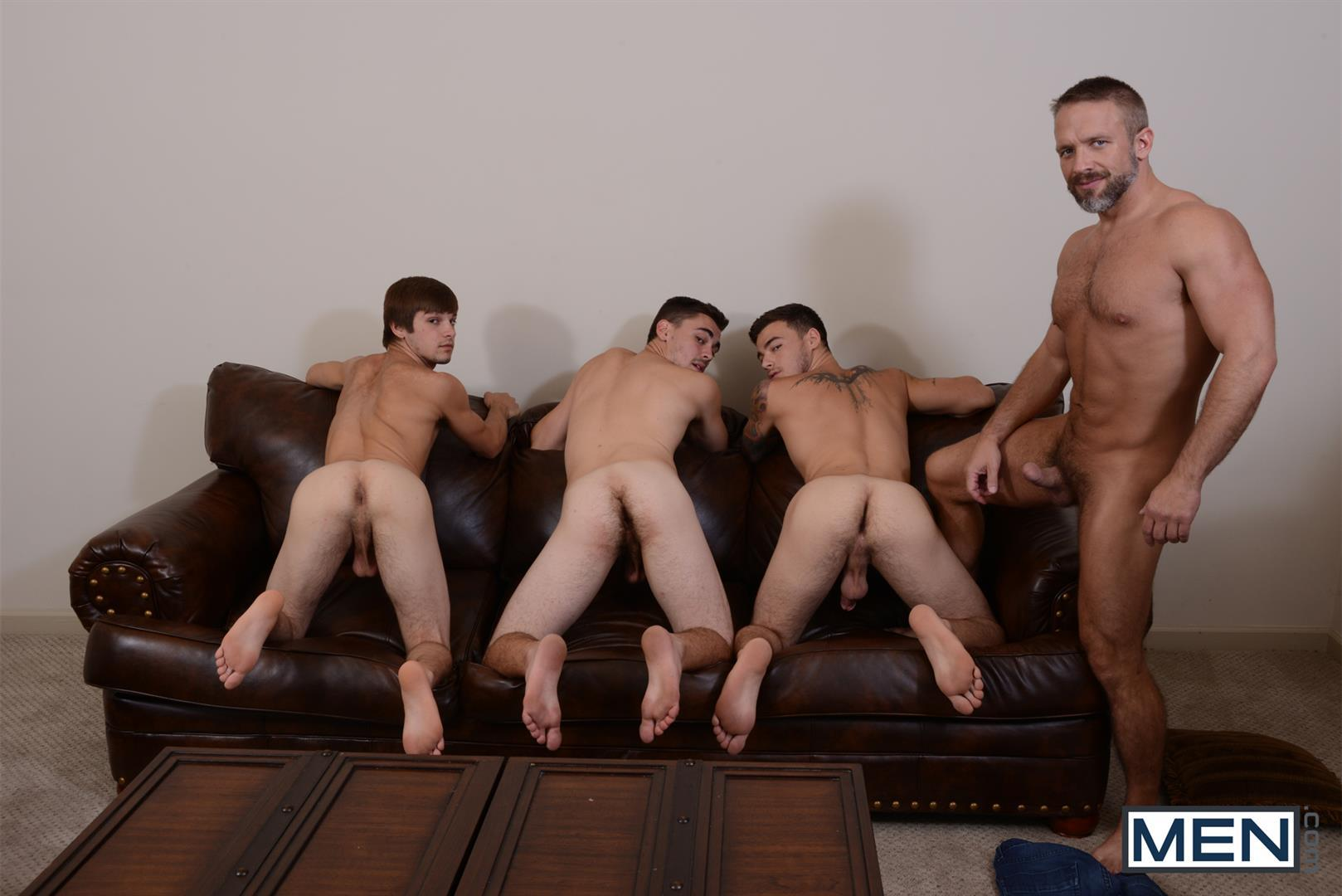 Men-Jizz-Orgy-Asher-Hawk-and-Dirk-Caber-and-Johnny-Rapid-and-Trevor-Spade-Triple-Penetrated-In-the-Ass-Amateur-Gay-Porn-10 Stepfather Dirk Caber Gets TRIPLE Penetrated By His Stepsons