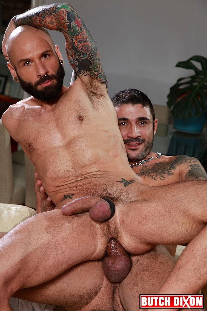 Butch-Dixon-Kris-Kurt-and-Max-Toro-Big-Uncut-Cocks-Bareback-Fucking-Amateur-Gay-Porn-19 Max Toro Barebacking Kris Kurt's Slutty Ass With His Huge Uncut Cock
