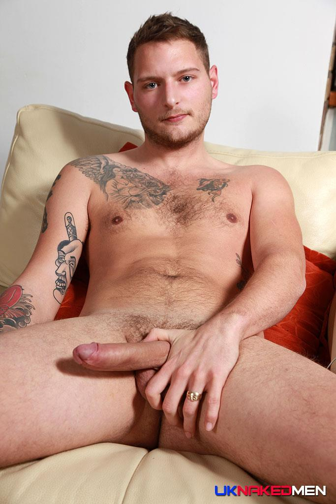 UK Naked Men Dan Stone British Guy Naked With Big Uncut Cock Amateur Gay Porn 08 Bisexual British Guy Dan Stone Jerking Off His Big Uncut Cock