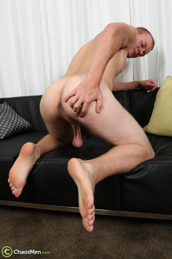 ChaosMen-Lincoln-Redhead-Low-Hanging-Balls-Jerking-Off-Ginger-Amateur-Gay-Porn-40 Redheaded Straight Texas Guy With Low Hanging Balls Jerks Off His Big Cock