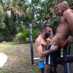 Cum Pig Men Alessio Romero and Ethan Palmer Hairy Muscle Latino Daddy Cocksucking Amateur Gay Porn 05 150x150 Hairy Latino Muscle Daddy Gets A Load Sucked Out And Eaten