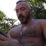 Cum Pig Men Alessio Romero and Ethan Palmer Hairy Muscle Latino Daddy Cocksucking Amateur Gay Porn 10 150x150 Hairy Latino Muscle Daddy Gets A Load Sucked Out And Eaten