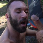 Cum Pig Men Alessio Romero and Ethan Palmer Hairy Muscle Latino Daddy Cocksucking Amateur Gay Porn 13 150x150 Hairy Latino Muscle Daddy Gets A Load Sucked Out And Eaten