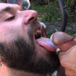 Cum Pig Men Alessio Romero and Ethan Palmer Hairy Muscle Latino Daddy Cocksucking Amateur Gay Porn 24 150x150 Hairy Latino Muscle Daddy Gets A Load Sucked Out And Eaten
