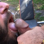 Cum Pig Men Alessio Romero and Ethan Palmer Hairy Muscle Latino Daddy Cocksucking Amateur Gay Porn 27 150x150 Hairy Latino Muscle Daddy Gets A Load Sucked Out And Eaten