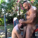 Cum Pig Men Alessio Romero and Ethan Palmer Hairy Muscle Latino Daddy Cocksucking Amateur Gay Porn 32 150x150 Hairy Latino Muscle Daddy Gets A Load Sucked Out And Eaten