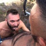 Cum Pig Men Alessio Romero and Ethan Palmer Hairy Muscle Latino Daddy Cocksucking Amateur Gay Porn 43 150x150 Hairy Latino Muscle Daddy Gets A Load Sucked Out And Eaten
