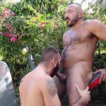 Cum Pig Men Alessio Romero and Ethan Palmer Hairy Muscle Latino Daddy Cocksucking Amateur Gay Porn 45 150x150 Hairy Latino Muscle Daddy Gets A Load Sucked Out And Eaten