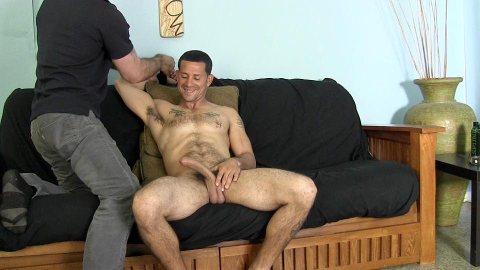 Straight boy sucked by gay
