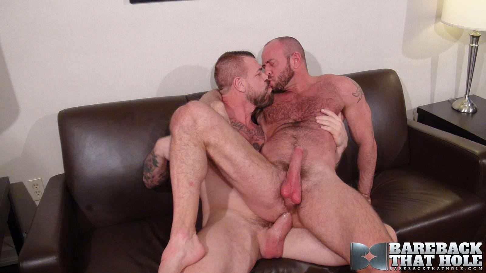 Bareback That Hole Rocco Steele and Matt Stevens Hairy Muscle Daddy Bareback Amateur Gay Porn 16 Hairy Muscle Daddy Rocco Steele Breeding Matt Stevens