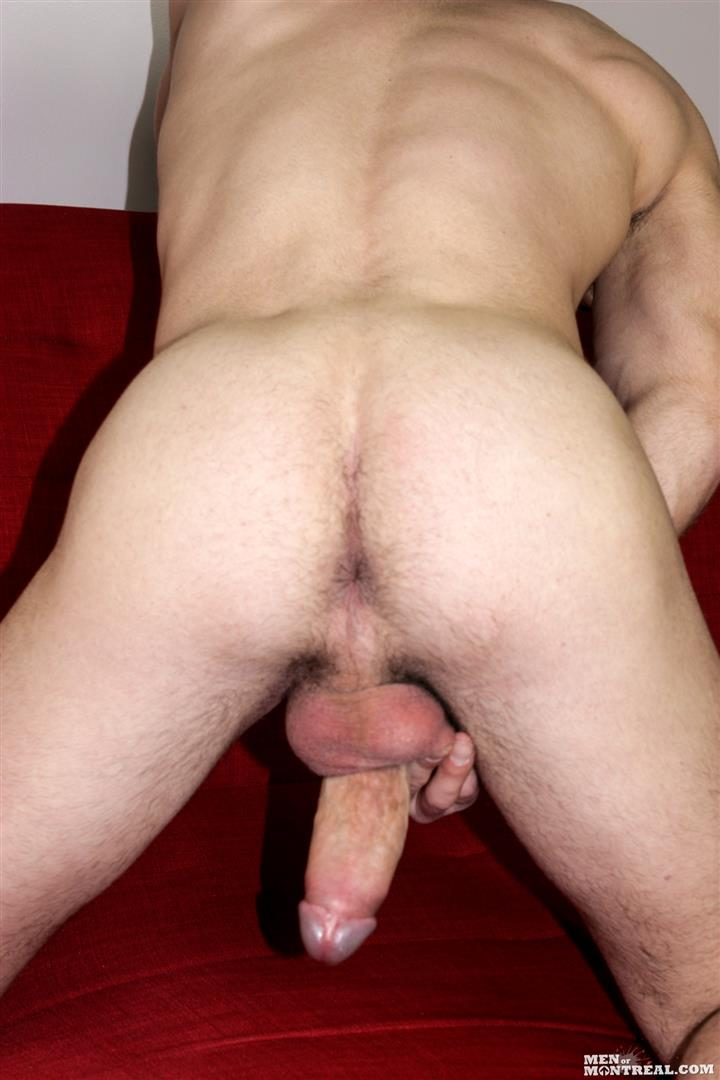 Men-of-Montreal-Cedrick-Dupuy-Hung-Muscle-Guy-With-Big-Uncut-Cock-Amateur-Gay-Porn-12 Canadian Hunk With A Big Uncut Cock Auditions For Gay Porn