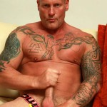 Butch Dixon Big T British Muscle Daddy With A Big Uncut Cock Amateur Gay Porn 08 150x150 British Muscle Daddy Jerking Off His Big 9