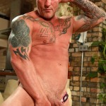 Butch Dixon Big T British Muscle Daddy With A Big Uncut Cock Amateur Gay Porn 10 150x150 British Muscle Daddy Jerking Off His Big 9