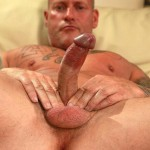 Butch Dixon Big T British Muscle Daddy With A Big Uncut Cock Amateur Gay Porn 11 150x150 British Muscle Daddy Jerking Off His Big 9